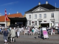 Indvielse af tirsdagsmarked i Stege 30. juni