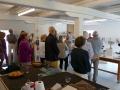 Digtoplæsning ved kunstudstilling