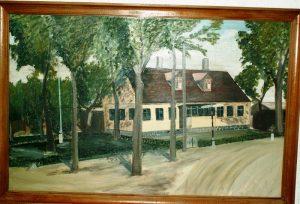 Maleri af Ediths fødehjem