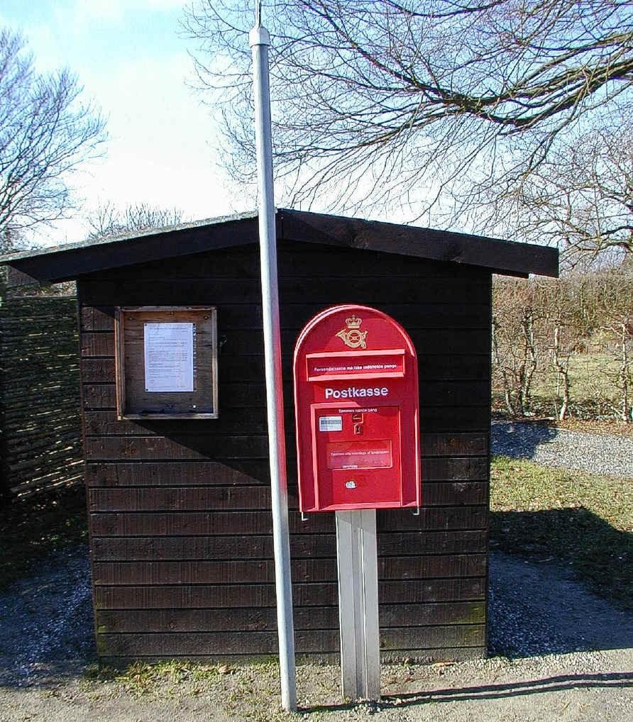 hvornår bliver postkassen tømt