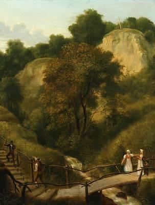 C.W. Eckersberg maleri fra Liselund 1809