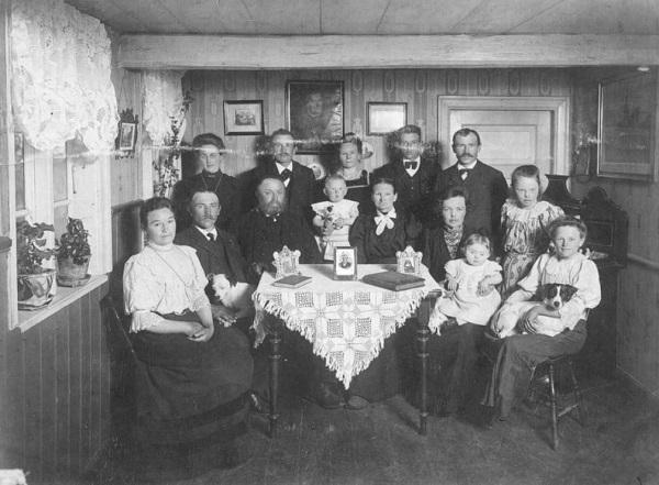 11 Pap med familie