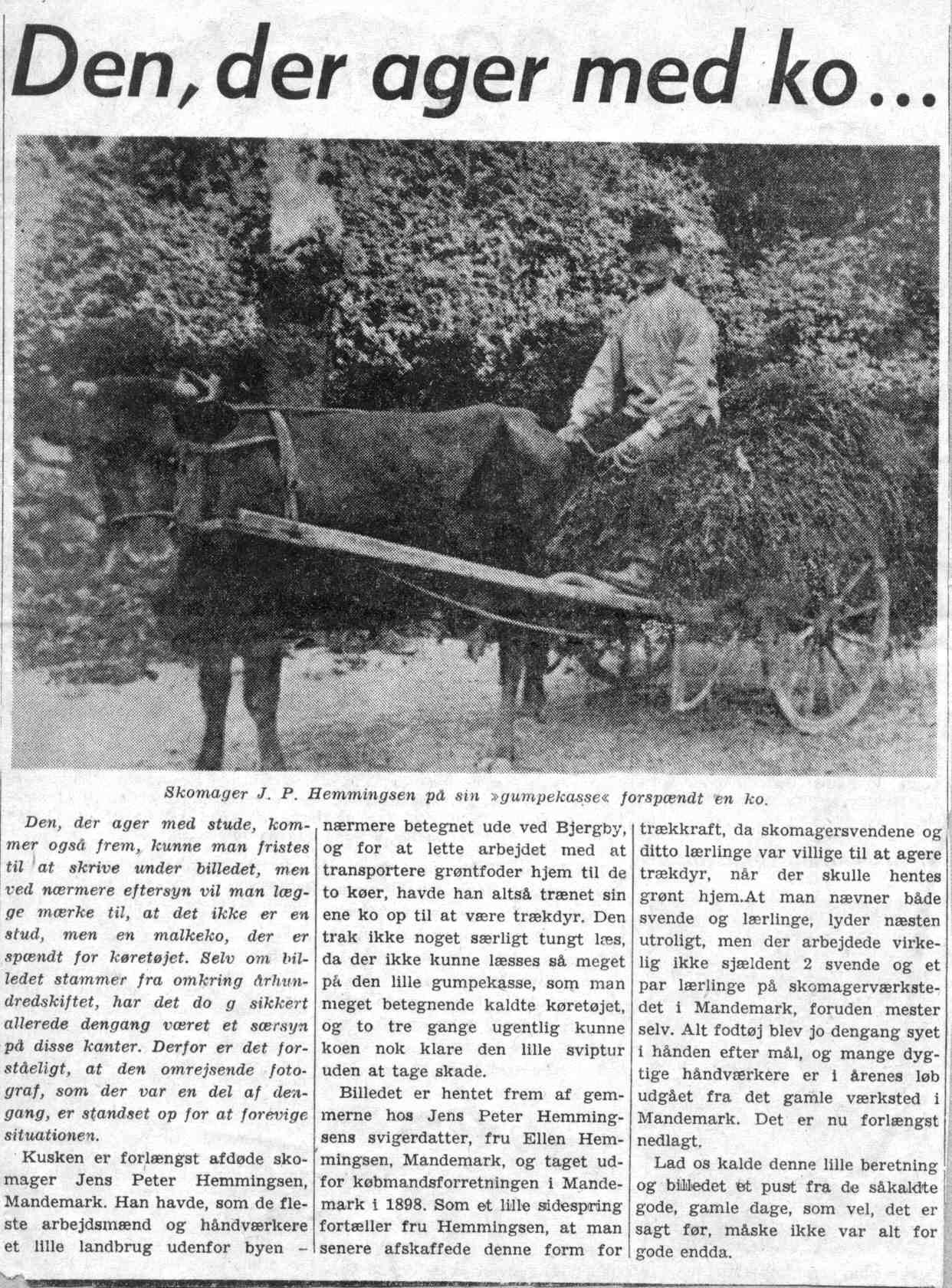 13 Hemmingsen i avis