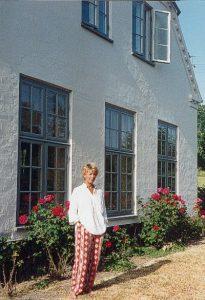 8 Charlotte ved gavl 1992