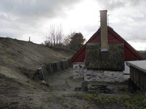 Skovstrædet 10 blev 'gravet fri' af bakkerne i 2010